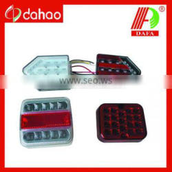 100% waterproof 12v E-MARK LED tail light for trailers