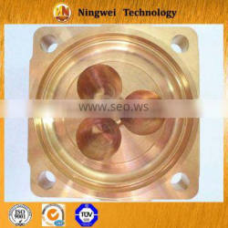 brass forging parts instrument and meter cavity