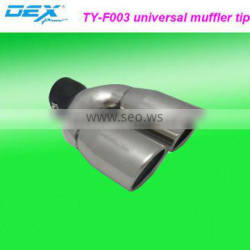 car part tuning function stainless steel 304 universal exhaust muffler tip