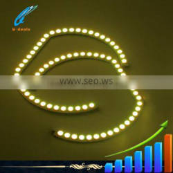 2015 new arrival F30 rgb color changing angel eyes halo rings for bmw headlights