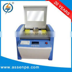 High accuracy multyfunctional insulating oil tester,dielectric oil testing instrument