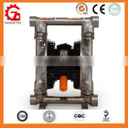 57 L per min 7 bar cast steel chemical transfer pneumatic air diaphragm pump