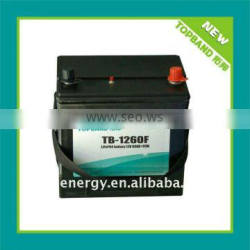 One key reset!!!TB-1260F 12V 60Ah lifepo4 auto battery+PCM