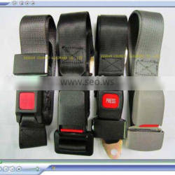 Simple two-point safety belt for bus