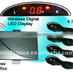 LED Display Wireless Car Parking Sensor (WRD018)