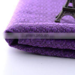 new design 100% polyester embossed Sofa Cover fabric/curtain fabric