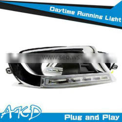AKD Car Styling 2009-2011 Camry LED DRL Old Camry DRL Daytime Running Light Good Quality LED Fog lamp