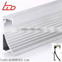 New type aluminum extrusions for wall mounted / led bar light with CE and RoHs
