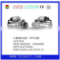 12V Starter motor for Xuli from China factory