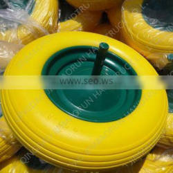 pu foam carretilla wheel 350-8