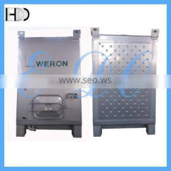 Beverage Storage and Transportation Container with Glycol Dimple Jacket