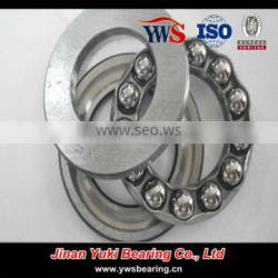 High quality 10*24*9mm 51100 thrust ball bearing