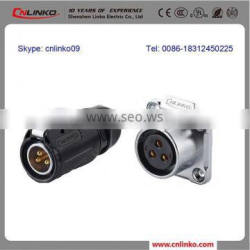 Good Spring Loaded Connector 3 PIN, Auto Waterproof Connector IP67 with CE/UL mark