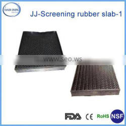 perforated rubber mats/perforated rubber sheet/rubber hole punch