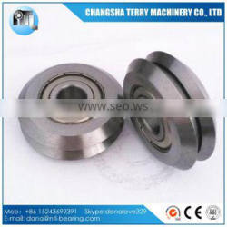 3/8 inch bore RM2ZZ W2 V groove guide wheel ball bearing