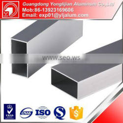 Hot sale aluminum square hollow tube with different surface treatment