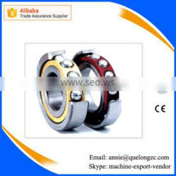 2016 New Single Row Angular Contact Ball Bearing With High Precision