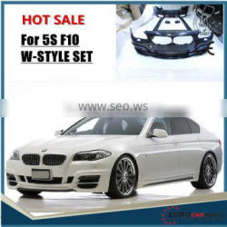 HOT New B- 5S F10 W-STYLE body kit for f10 w-style body kit
