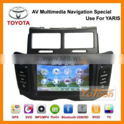 Yotoon Factory Newest 6.2'' GPS Navigation System Car DVD player Special Use for Toyota Yaris