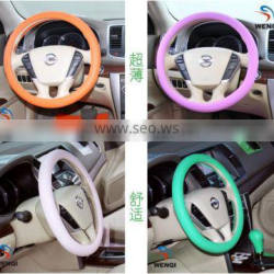 car silicone steering wheel cover silicone car steering wheel cover
