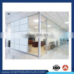 Unique style best sell aluminium partitions profile workstation