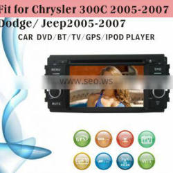 dvd car fit for Jeep old Chrysler 300C 2005 - 2007 with radio bluetooth gps tv