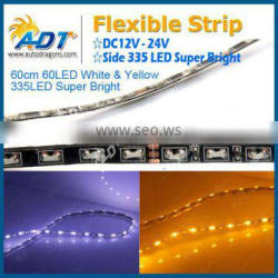 60CM Dual Color Switchback LED strip White/Yellow Side335 SMD
