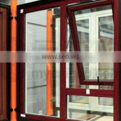 2016 newly designed thermal break aluminum profile bottom hung windows