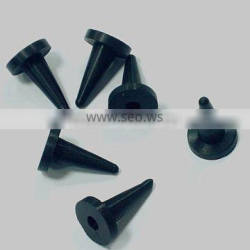 shaped rubber plugs