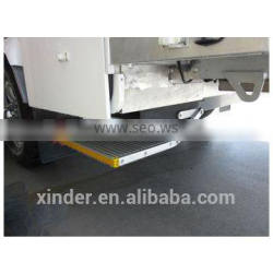 easy operate manual aluminium folding step for van and motorhome and truck