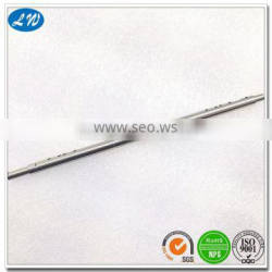 Customized long stainless steel axle shaft for oil press