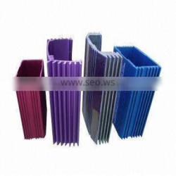Aluminum extrusion profile, 6063 material, anodizing OEM and ODM orders are welcome