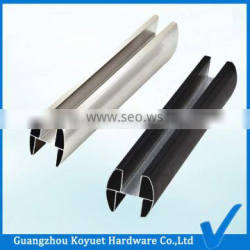 WC Public Toilet Partition Cubicle Alumium Profile High Quality Headrail Part