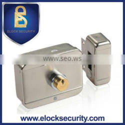 Intelligent Electric Motor Lock with Double Cylinder