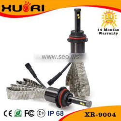 New Promotion CE ROHS P-hilips hi/lo beam h4 9004 9007 H13 led headlight bulbs 40W headlights led 6000k for cars