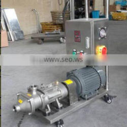 sanitary stainless steel screw pump