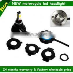 Factory wholesale 4300k 5000k 6000k high low 3 side and 4 side motorcycle led light kits