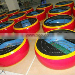 Vacuum forming plastic products for adverstesment
