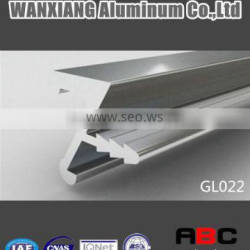 Extruded aluminium profiles kitchen profile handle profile GL022