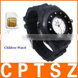 Fashionable and Bright GPS Watch Tracker for Kids Safety, GPRS/GSM GPS Tracker
