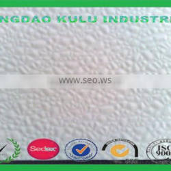 professional manufacture decorative pebble embossed FRP panel for sale