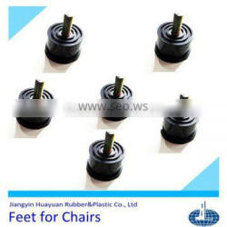 high performance (EPDM,silicone,NR,NBR and recycled rubber) Rubber supporting feet for refrigerators,chairs and air conditions