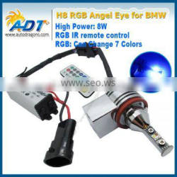 RGB halo ring angel eyes light led bulb for BMW 528i, 528xi, 535i, 535xi, 550i