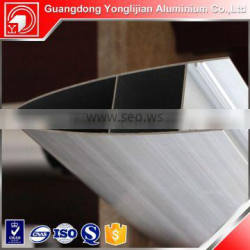 Anodized industrial aluminum profile