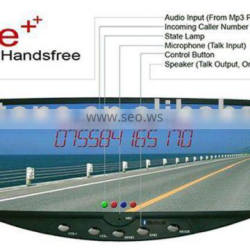 Car Bluetooth Handsfree Car Kit LED Display Show Caller ID