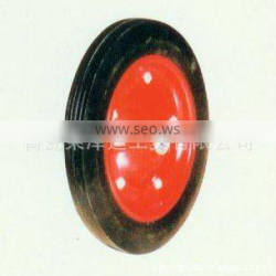 wheelbarrow spare part rigid durable specification standard high quality rubber wear-resisting solid rubber YSO011