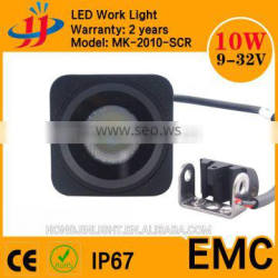 Factory 2inch 9-32V 12 volt IP67 Square CREEs LED Work Lamp Waterproof