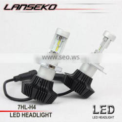 Super hot sell led headlight kit H4 H13 9004 9007 6500K 30W per bulb led car light bulb