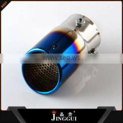 Wenzhou SS304 blue exhaust pipe for universal