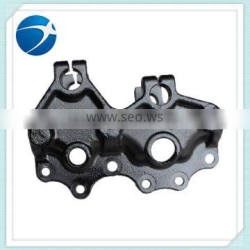 2015 new customized casting steel parts plate spring holder